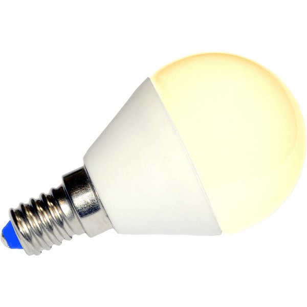 LEDGalaxy 4-W-Mini-LED-Lampe E14, warmweiß, 200°
