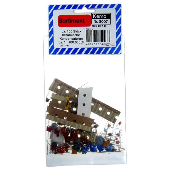 Kemo Keramikkondensatoren ca. 100 Stück S007
