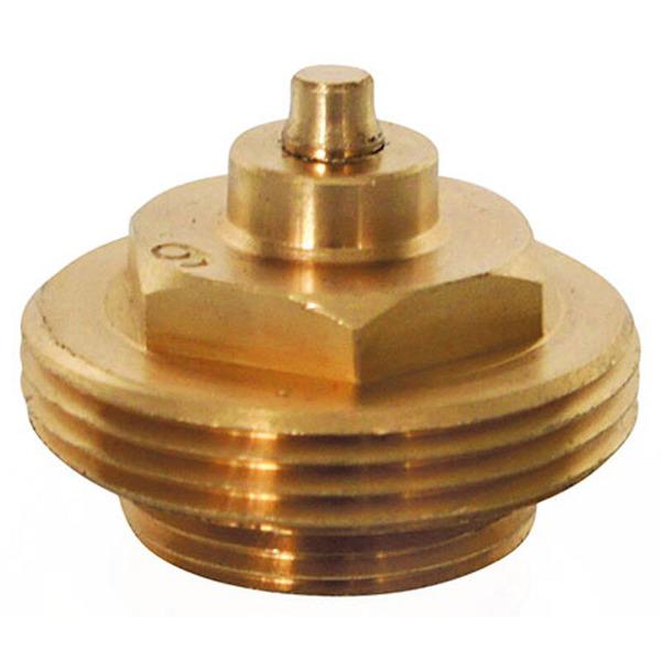 Heizungsventiladapter für Gampper M22 (bis 10 mm Tiefe) (Messing)
