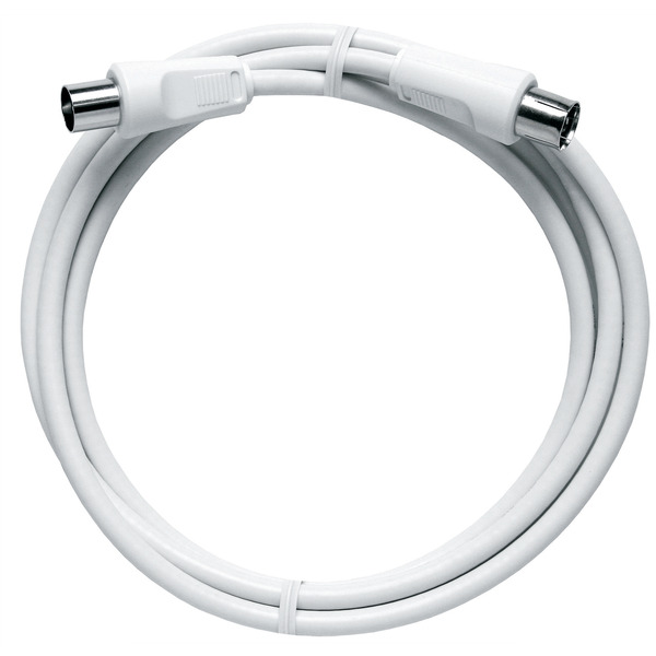 Axing BAK 999-80 BK-Anschlusskabel (axialer Stecker - axiale Kupplung), 10,0 m, weiß