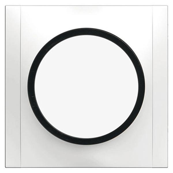 REV Ascoli Blindabdeckung, weiß-grau, inkl. Rahmen