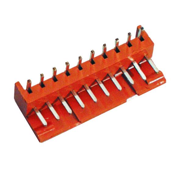 BKL Electronic Platinen-Steckverbinder Unterteil, 3 polig, gerade, Raster 2,5 mm