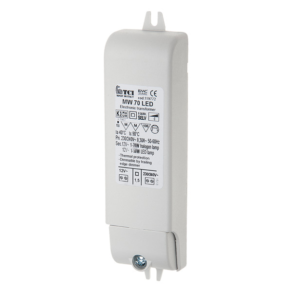 TCI 2,5-70-W-LED-Netzteil, 12 V AC