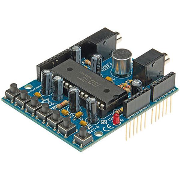 Velleman Audio Shield für Arduino, KA02, Bausatz