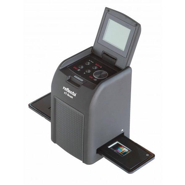 reflecta x7-Scan Dia-/Negativscanner, 3200 dpi (14 Megapixel), Akkubetrieb