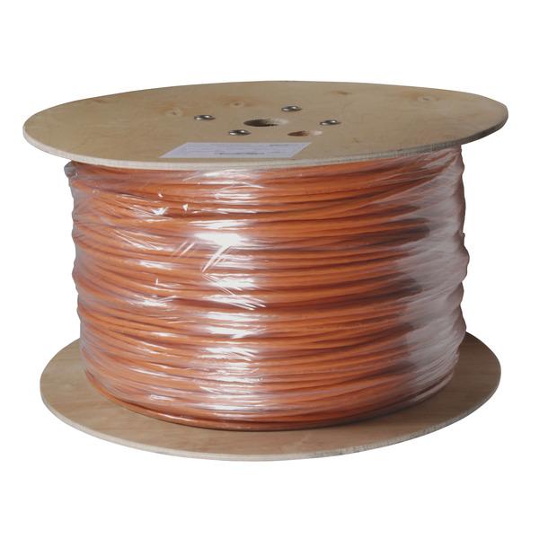 EFB-Elektronik Verlegekabel Cat. 7 Rohkabel, 1000, AWG23, S/FTP, 4P, FRNC, 50 m