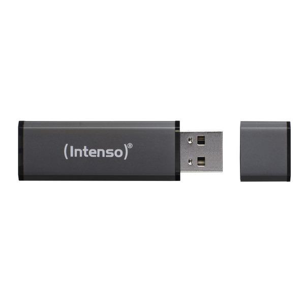 Intenso USB-Stick 64 GB Alu Line, USB 2.0