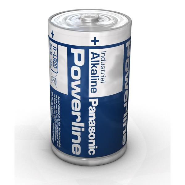 Panasonic Powerline Alkaline Batterie Mono D