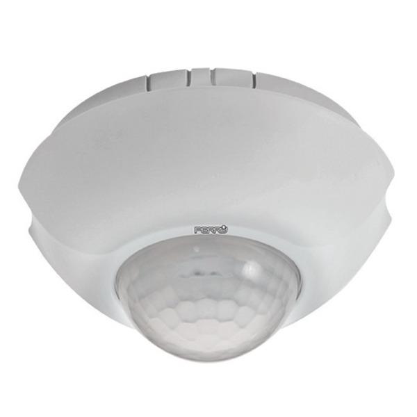 Sesam-Systems 360°-PIR-Decken-Präsenzmelder, weiß, Aufputz-Version