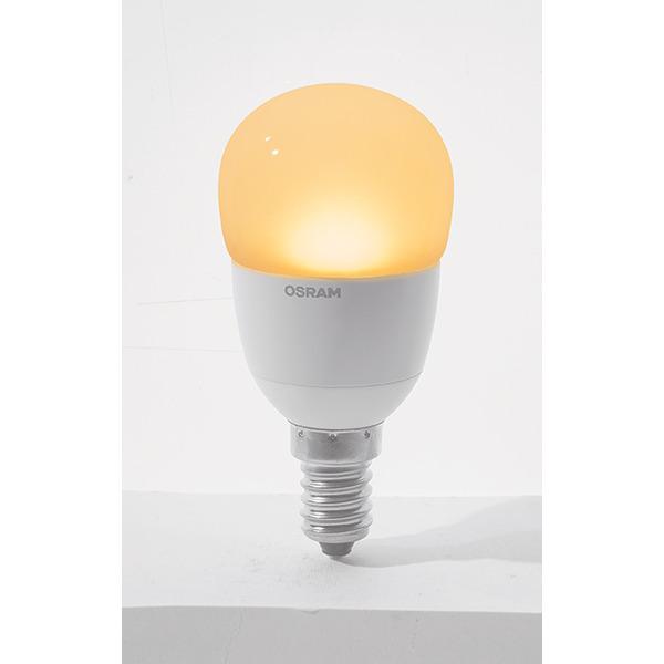 OSRAM 5-W-LED-Tropfenlampe E14, warmweiß, dimmbar
