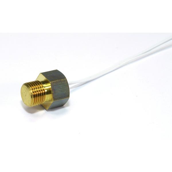 H-Tronic Temperaturfühler PT 1000 mit Schraubgewinde für Solar-Temperatur-Differenzregler TDR 2004