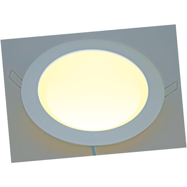 HEITRONIC 12-W-LED-Panel 199 mm, warmweiß, dimmbar