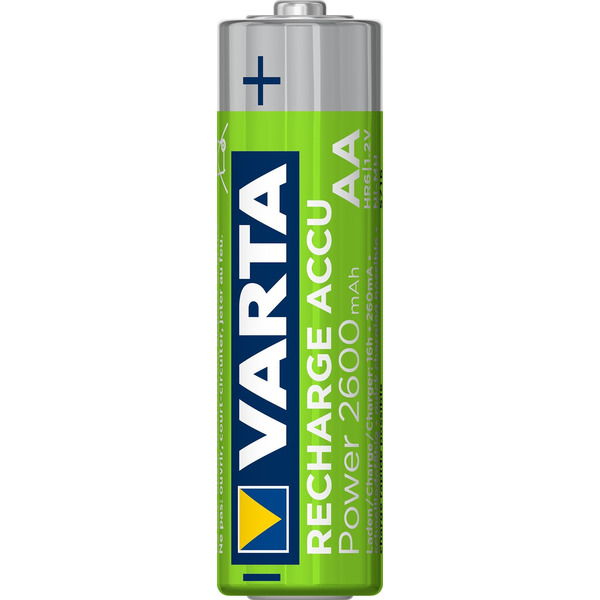 Varta Recharge Akku Power AA 2600mAh, 4er Pack