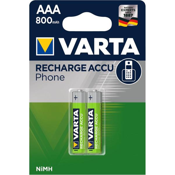 VARTA RECH.ACCU Phone AAA 800mAh Blister 2