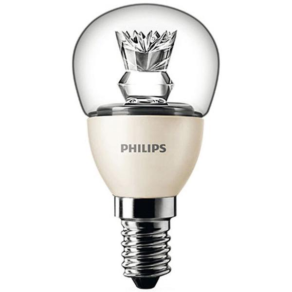 Philips MASTER LEDcluster 4-W-LED-Tropfenlampe E14, warmweiß, dimmbar