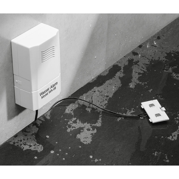 ELV WA-08 Batterie-Wassermelder, Sensor absetzbar