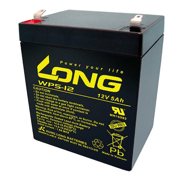 Kung Long Blei-AGM-Akku WP5-12, 12 V, 5 Ah