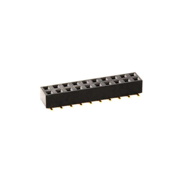econ connect Buchsenleiste FHS35D20GOT, 2x 10-polig, Körperhöhe 3,55 mm, SMT, nicht trennbar