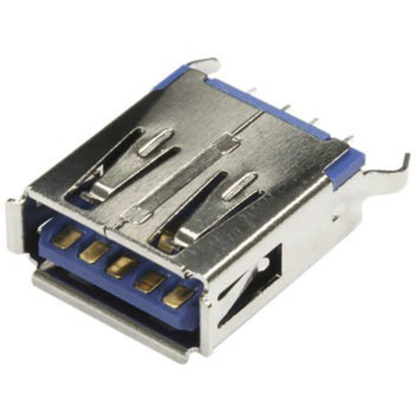 econ connect USB-Buchse 3.0 Typ A USB3FAD, Printmontage, stehend