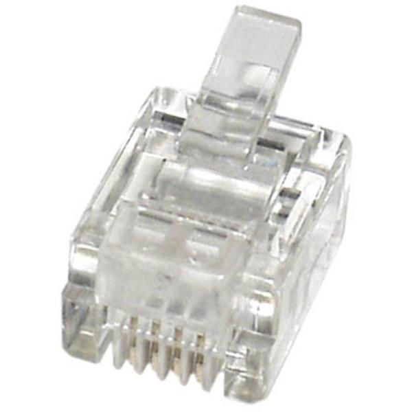 econ connect Modular-Stecker MPL64, 6P4C für Flachkabel