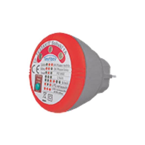 testboy Steckdosen-Prüfgerät Testavit® Schuki® 1A