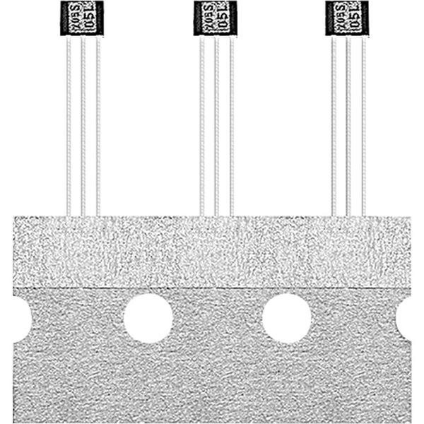 INFINEON Hallsensor TLE4945L, -10/+10 mT, PSSO3-2