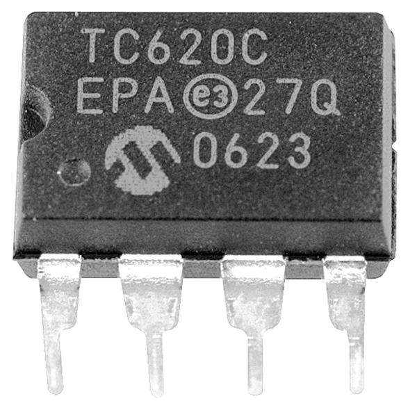 Microchip Temperatursensor TC623CEPA, -40/+85 °C, ±3 °C, 8-PDIP