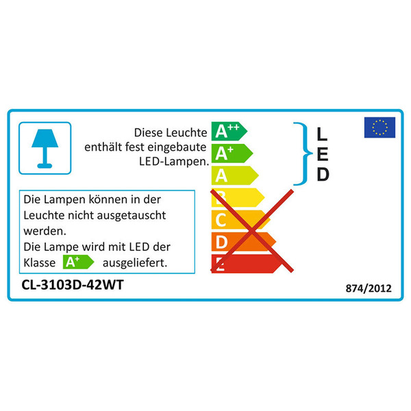 """LEDGalaxy 3,3-W-LED-Unterbauleuchte """"Micropanel"""" 307 mm mit Touchschalter, warmweiß"""