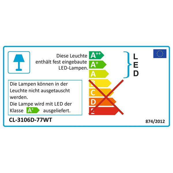 """LEDGalaxy 5,5-W-LED-Unterbauleuchte """"Micropanel"""" mit Touchschalter, 605 mm, warmweiß"""