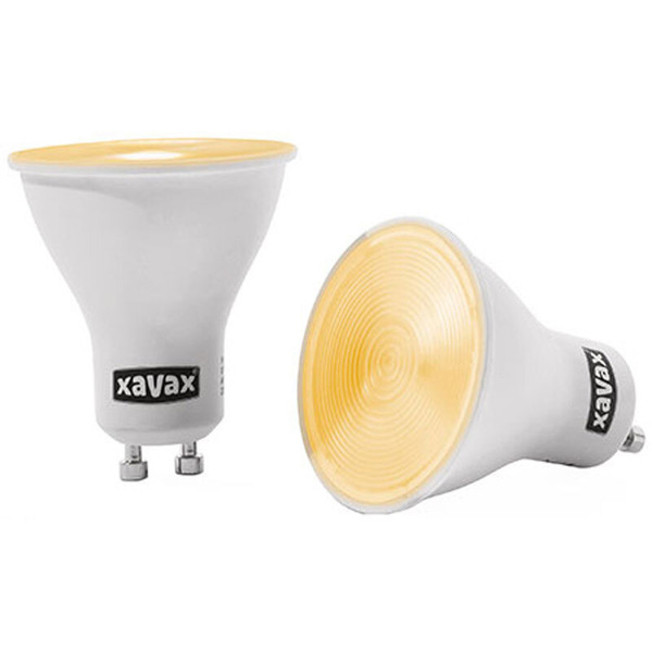 XAVAX 4-W-GU10-LED-Strahler warmweiß, 2er-Set