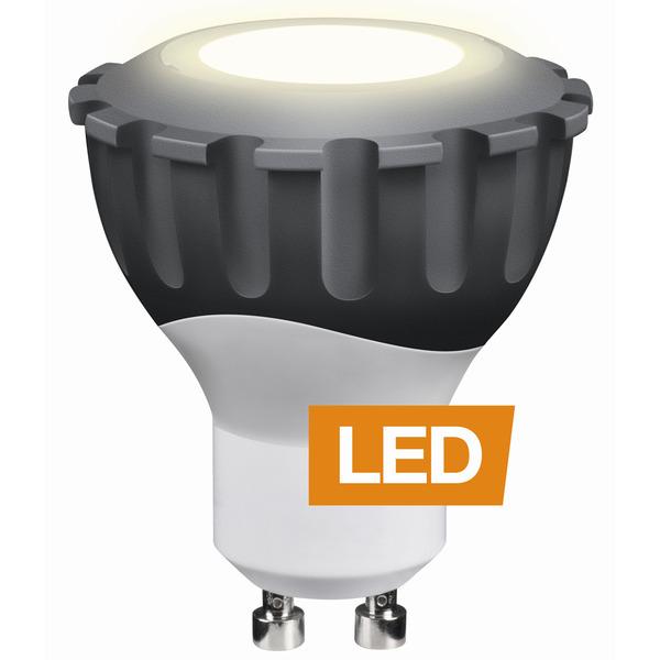 LEDON 8-W-GU10-LED-Strahler 60°, warmweiß, dimmbar