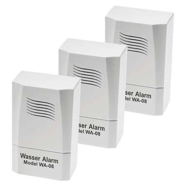 ELV Batterie-Wassermelder WA-08, 3er-Set