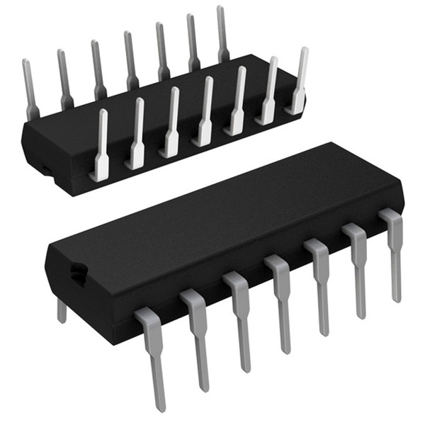 Texas Instruments Low Power Schottky IC SN74LS74AN
