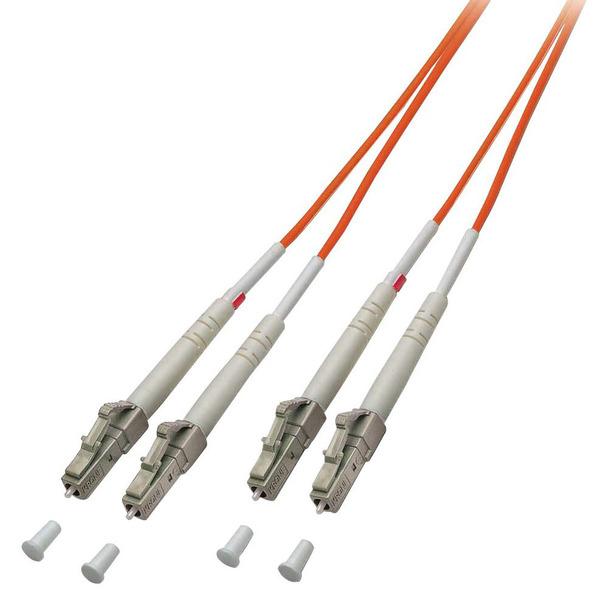 LINDY LWL-Duplex Kabel LC / LC, 50/125 µm, Multimode, 5m