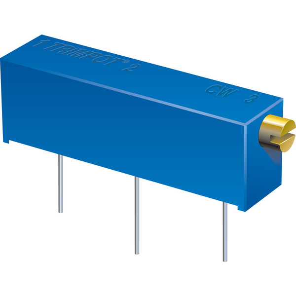 Bourns Trimmer 3006P-1-201LF, liegend, 200 Ω