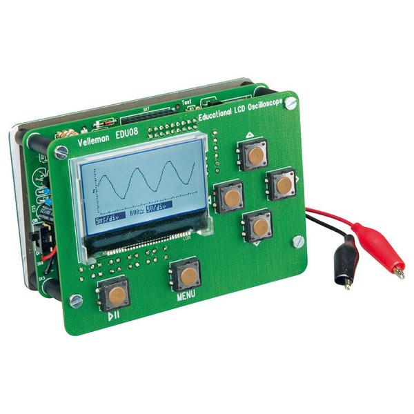 Velleman Oszilloskop-Lernpaket LCD-Display EDU08, Bausatz