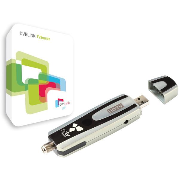 PCTV Sat-Tuner (DVB-S/S2) 461e, inkl. DVBLink Software, TVButler-System für Satellitenfernsehen