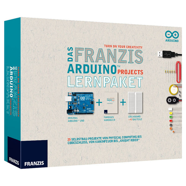 FRANZIS Arduino Projects Lernpaket