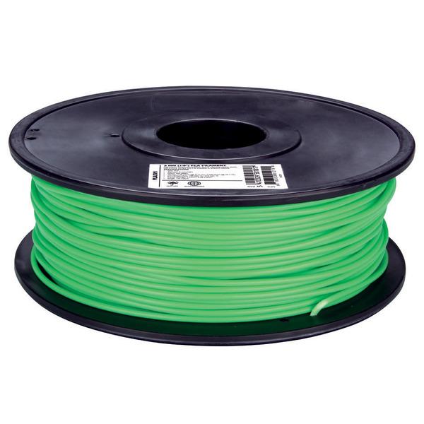Velleman PLA Filament, hellgrün, 3 mm, 750 g, PLA3V1