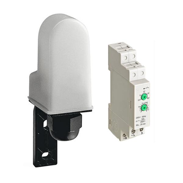Sesam-Systems EDS 17A Dämmerungsschalter für Hutschienenmontage