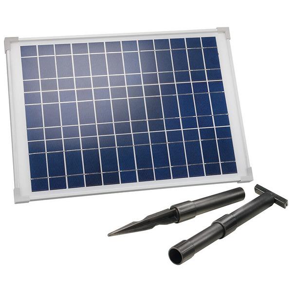 esotec SM 20-36 20-Wp-Solarmodul mit Aluminiumrahmen