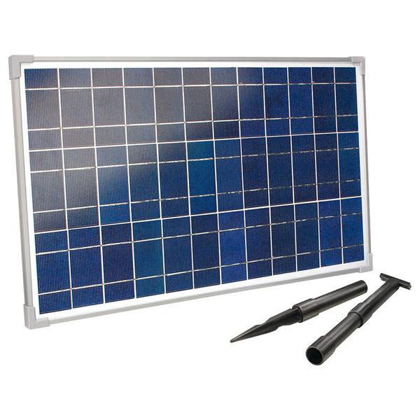 esotec SM 25-36 25-Wp-Solarmodul mit Aluminiumrahmen