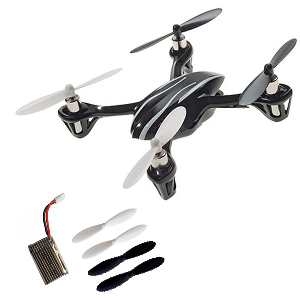 Sparset: ELV X4 Mini-Quadrocopter, 2,4 GHz, inkl. Zusatzakku und Rotorblattset