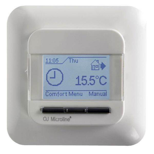 4-Phasen-Uhren-Thermostat OCD4 mit externem Temperaturfühler