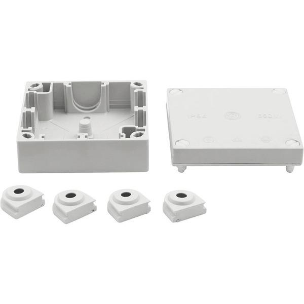 Aufputz-FR-Kabel-Abzweigkasten, 90 x 90 mm, IP 54