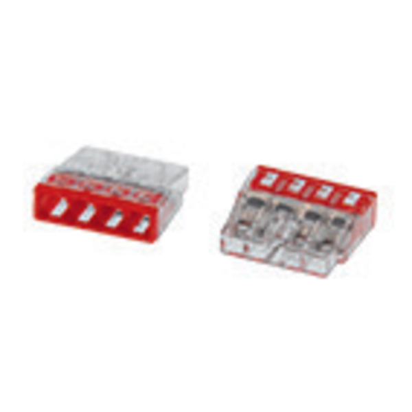 Wago Compact 2273-204 Verbindungsklemme, 4pol., 100 Stück