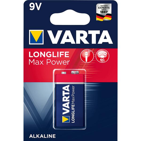 Varta Longlife Max Power 9V Block
