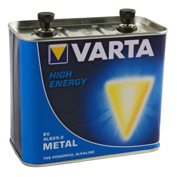 Varta Spezial-Batterien Typ 4R25-2 Metall, 19000 mAh