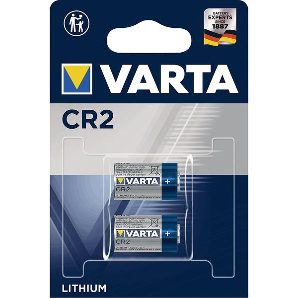 Varta Lithium CR2, 2er Pack