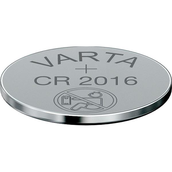 VARTA ELECTRONICS CR2016 Blister 2